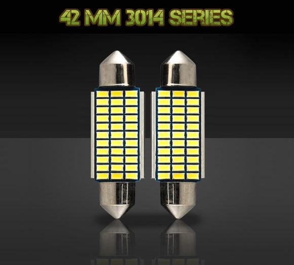 42mm 578 / 212-2 bulbs - 3014 Series - 33 LED