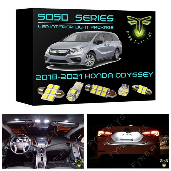 2018-2021 Honda Odyssey LED interior light kit 5050 Series