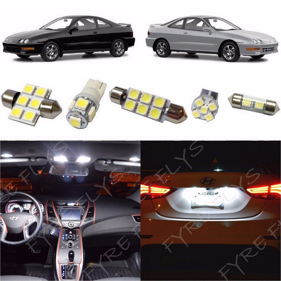 1994-2001 Acura Integra LED interior light kit 5050 Series