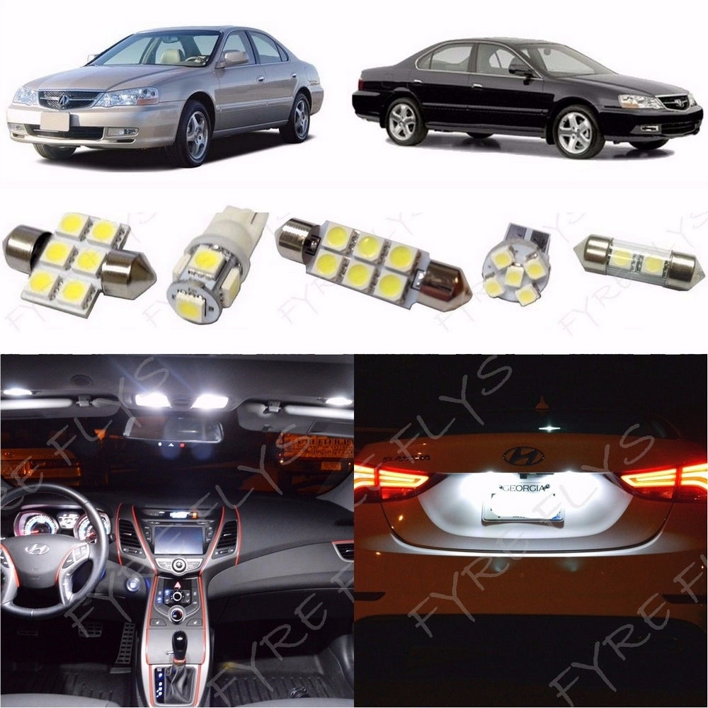 Complete LED Interior Light Kit For 1999-2003 Acura TL