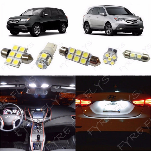 2014-2017 Acura MDX LED interior light kit 5050 Series