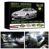 2005-2012 Acura RL LED interior light kit 3014 Series