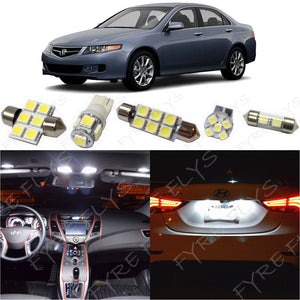2004-2008 Acura TSX LED interior light kit 5050 Series