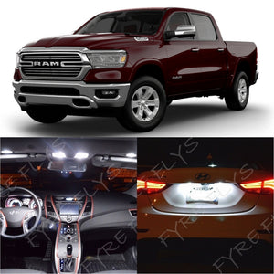 2019 Dodge Ram LED interior light kit 5050 Series