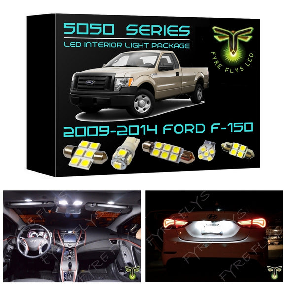 2009-2014 Ford F-150 LED interior light kit 5050 Series