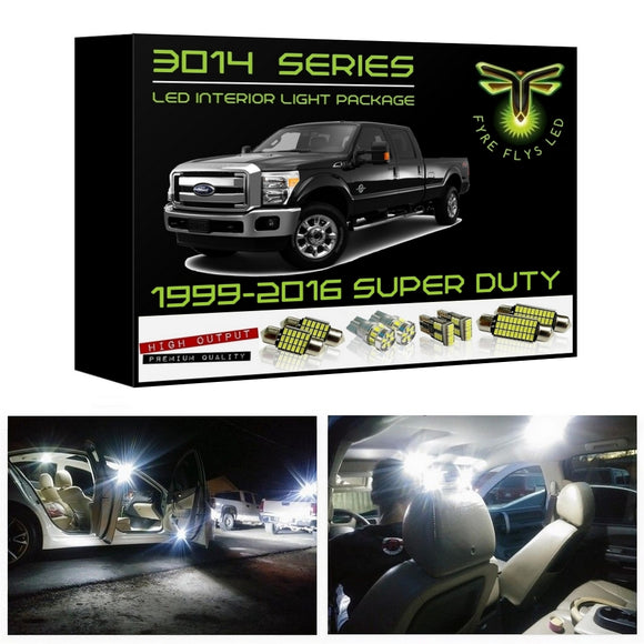 1999-2016 Ford Super Duty F250 F350 LED interior light kit 3014 Series