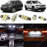 2014-2016 Jeep Compass LED interior light kit 5050 Series