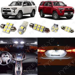 2014-2018 Toyota 4Runner LED interior light kit 5050 Series