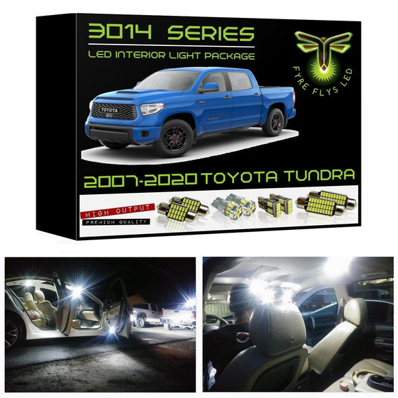 2007-2020 Toyota Tundra LED interior light kit 3014 Series