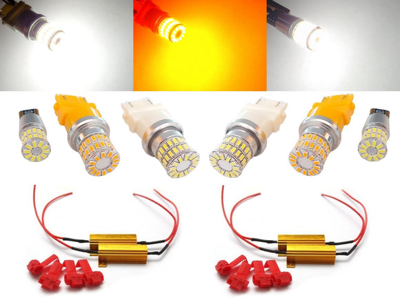 2014-2019 Toyota Tundra Front & Rear Turn Signal + Brake Light Combo w/ Load Resistors