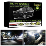 2010-2020 Toyota 4Runner LED interior light kit 3014 Series