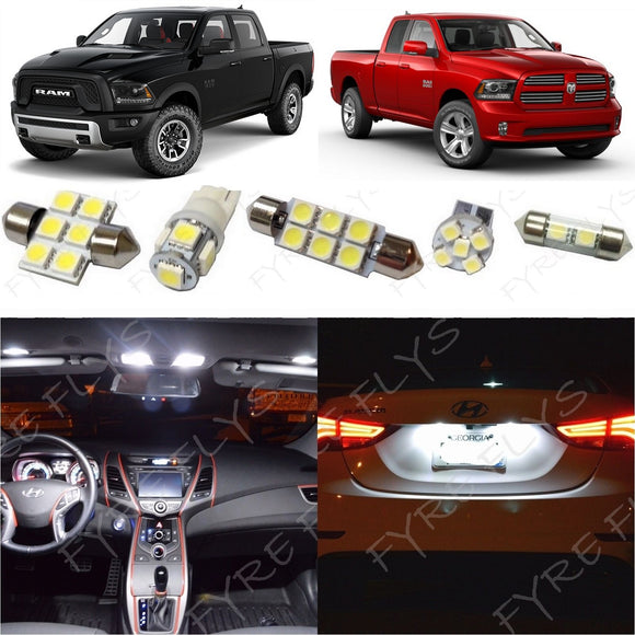 2016-2018 Dodge Ram LED interior light kit 5050 Series