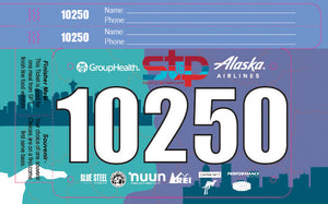 Challenger Bib with Integrated Wristband(s) / Pull Tag(s)