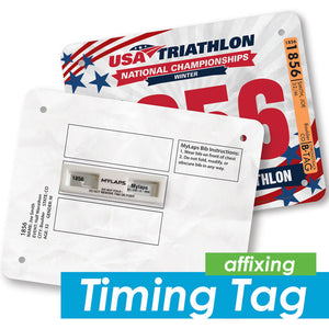 Timing Tag Affixing