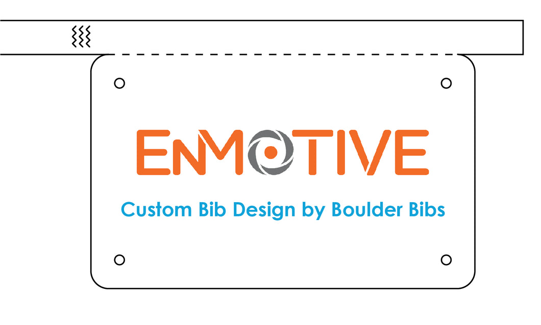 Enmotive Custom Bib - Wristband(s)