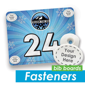 Reusable Bib Fasteners