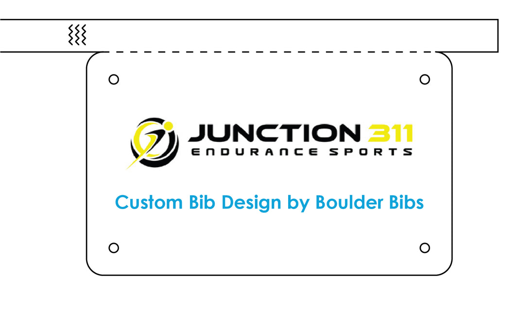 Junction 311 Custom Bib - Wristband(s)