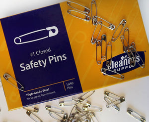 Box of Safety Pins
