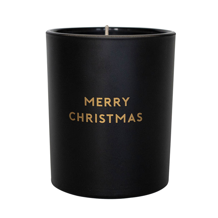 MERRY CHRISTMAS - BLACK JAR