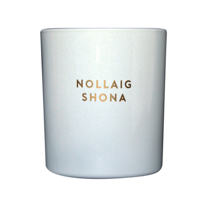NOLLAIG SHONA (WHITE + GOLD)