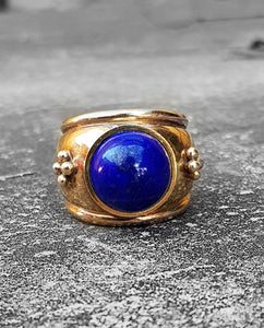 Royal Lapis ring.