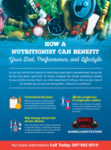 How A Nutritionist Can Benefit Your Diet, Performance, And Lifestyle