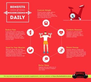 Infographic- Benefits of Exercising Daily