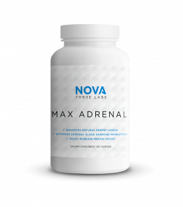 Nova 3 Labs - Max Adrenal - Bottle