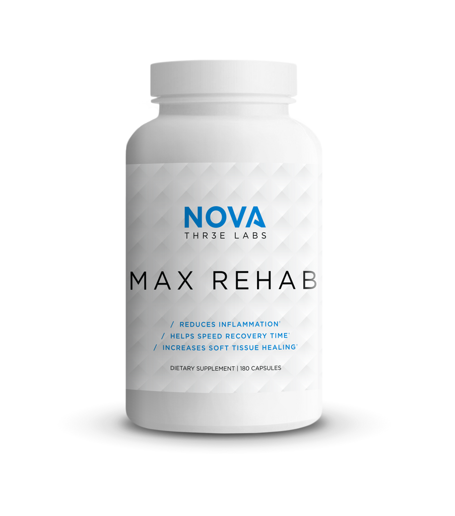 Nova 3 Labs - Max Rehab - Bottle