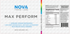 Nova 3 Labs - Max Perform - Rainbow Candy - Nutritional Facts