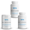 Nova 3 Labs - Recovery Stack - Max Recovery, Max Adrenal, Max Sleep