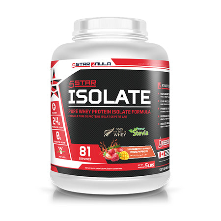 Isolate Whey Protein - Strawberry & Mango