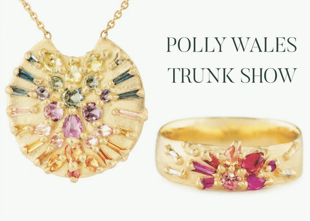 Polly Wales Trunk Show in Ardmore