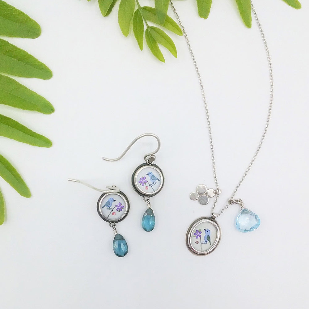 In the Jewelry Box: Ananda Khalsa Bluebirds