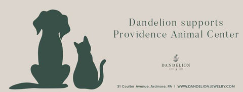 Dandelion Jewelry Providence Animal Shelter