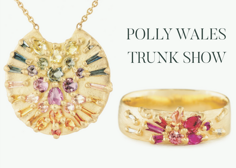 Polly Wales Trunk Show in Ardmore December 1-2