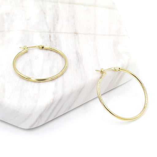 PERFECT GOLD HOOP