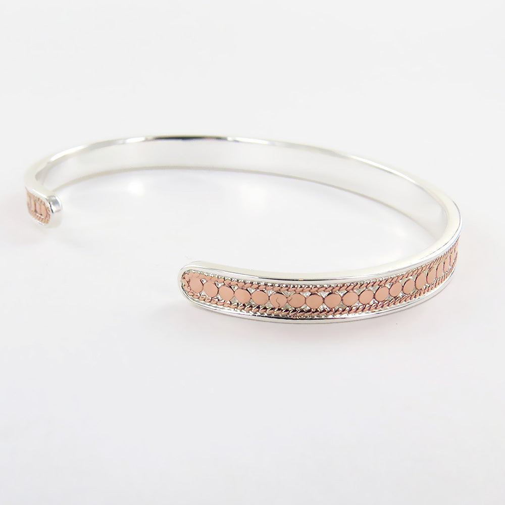 SKINNY CUFF IN ROSE GOLD