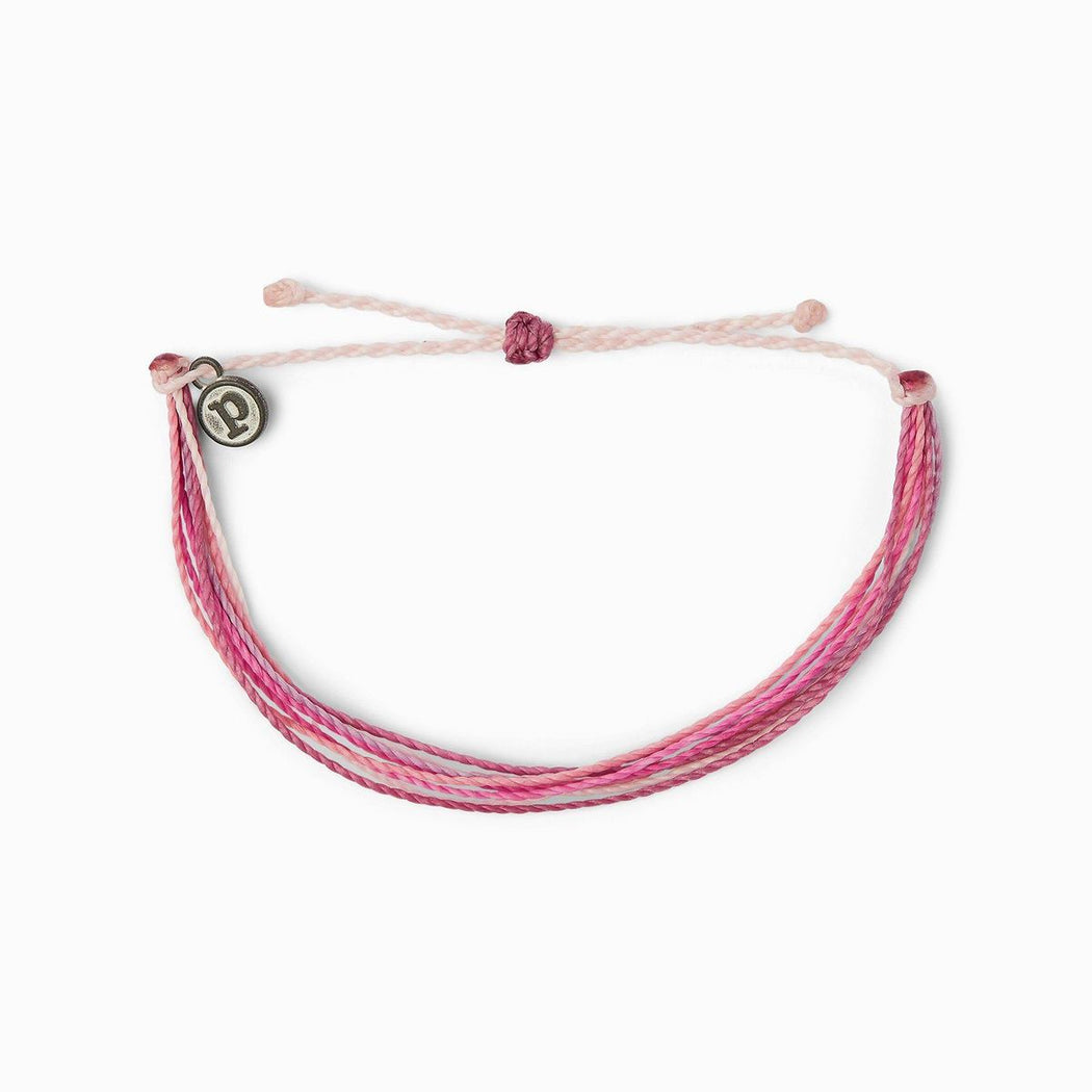 Pura Vida Original Bracelet ~ Stop & Small the Roses