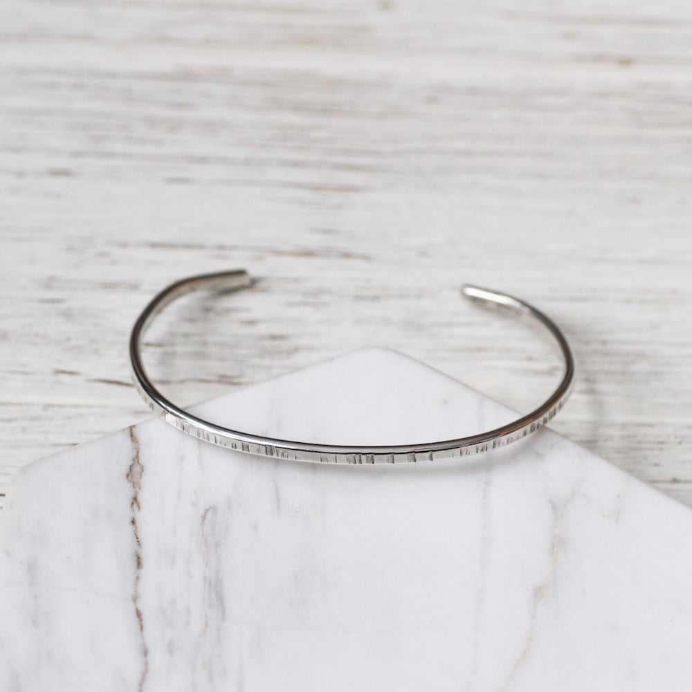 Thick Lines Stacking Cuff