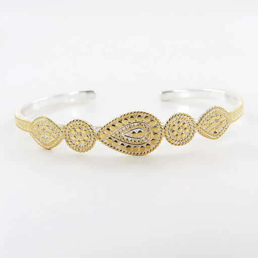 GOLD MULTI SHAPE CUFF