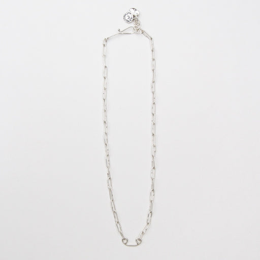 Sterling Silver Smooth Oval Link Pendant Chain