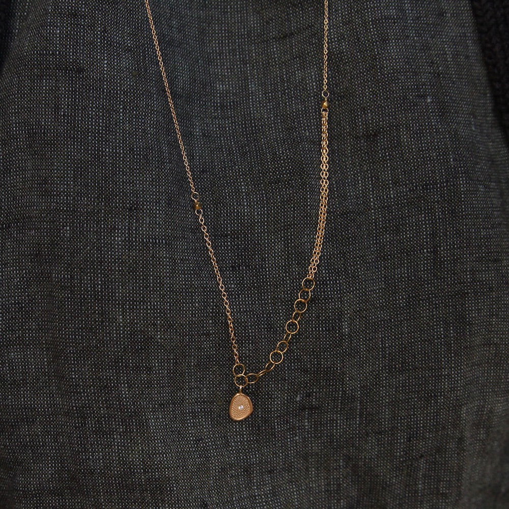Small Gold 'Stardust' Necklace