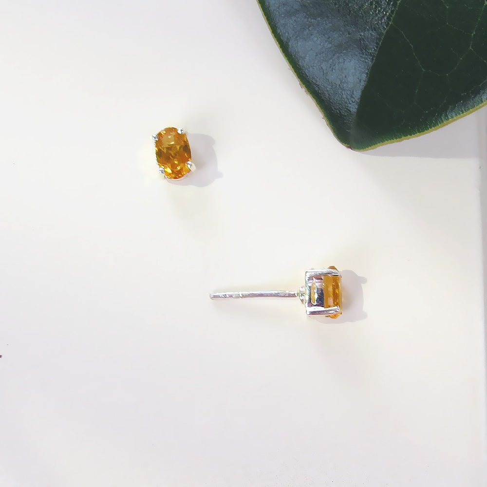 CITRINE OVAL POST