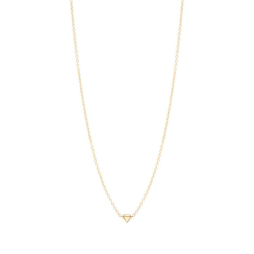 ITTY BITTY FACETED DAIMOND NECKLACE