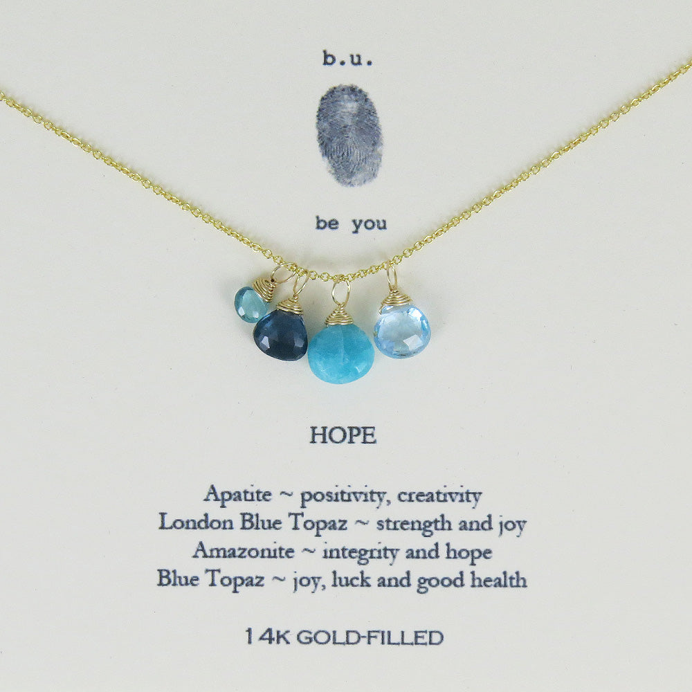 HOPE GOLD FILLED NECKLACE