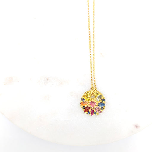 POLLY WALES OURIKA DISC NECKLACE