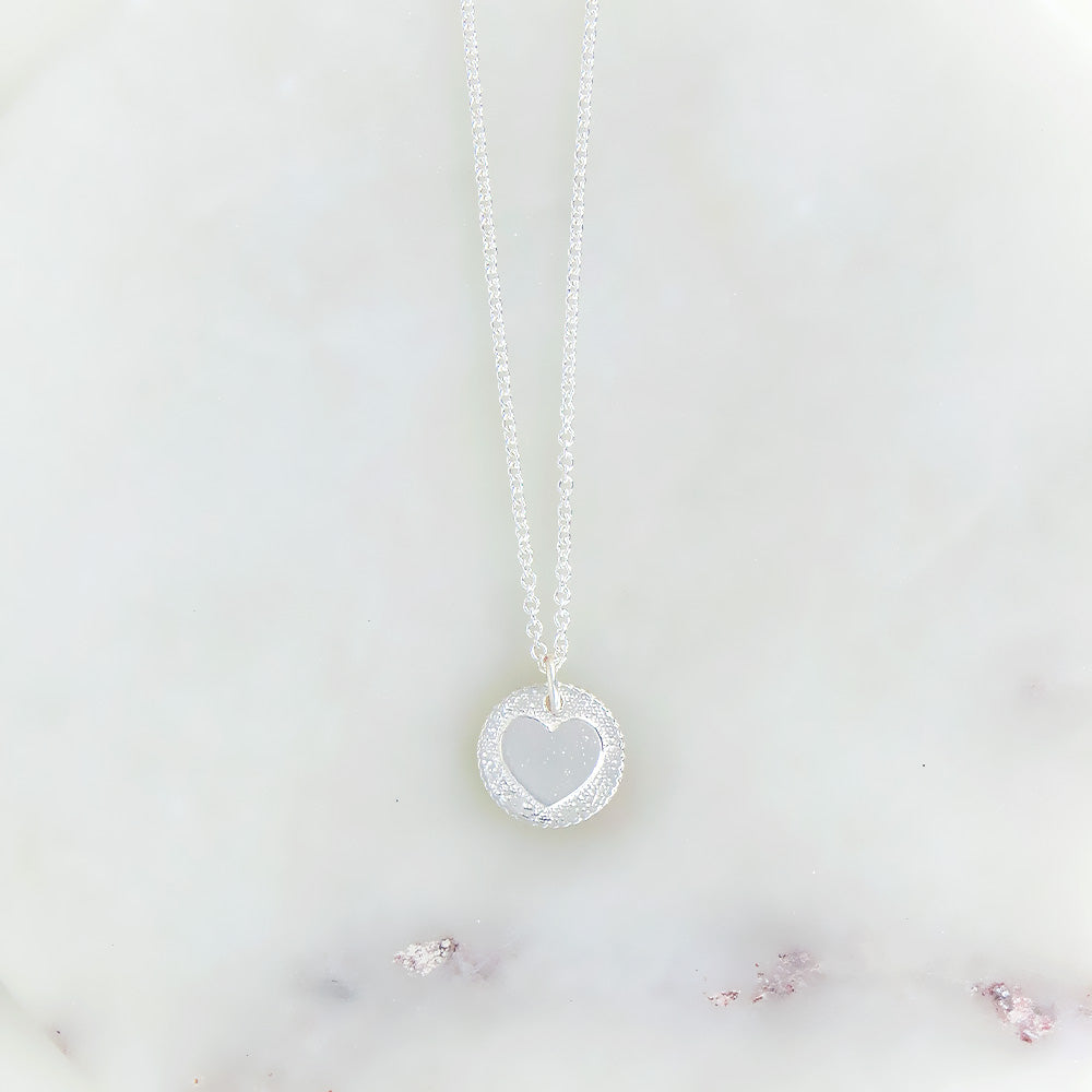 COLE HEART IN STERLING SILVER