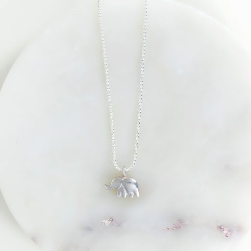 ELLIE NECKLACE IN STERLING SILVER