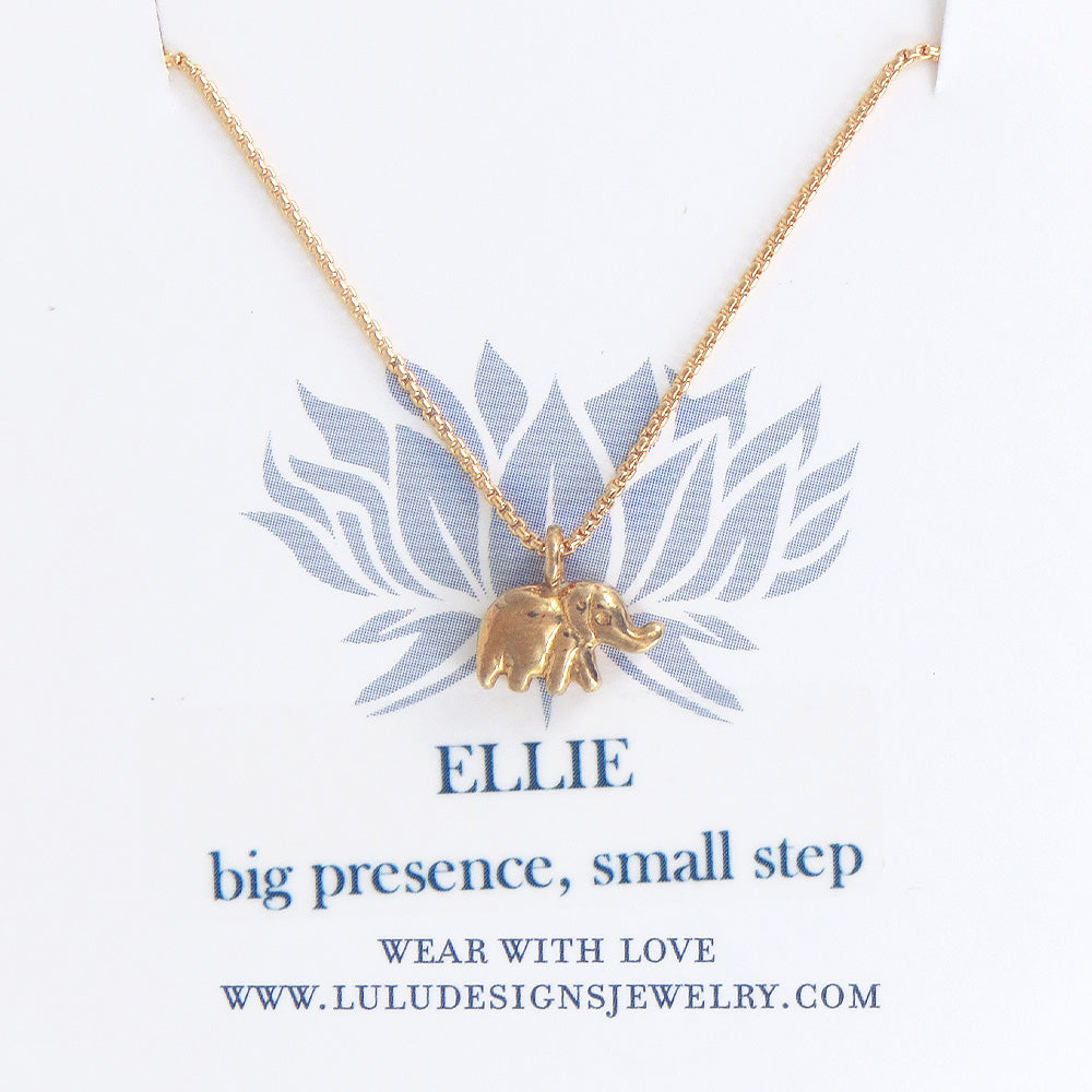 ELLIE NECKLACE IN GOLD FILLED